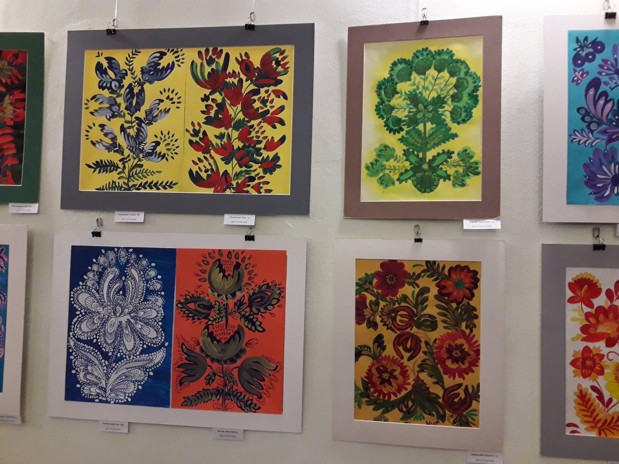 Виставка творчих робіт Будянської дитячої школи народного мистецтва «Квітів  барвограй» 7d87a74d526ab